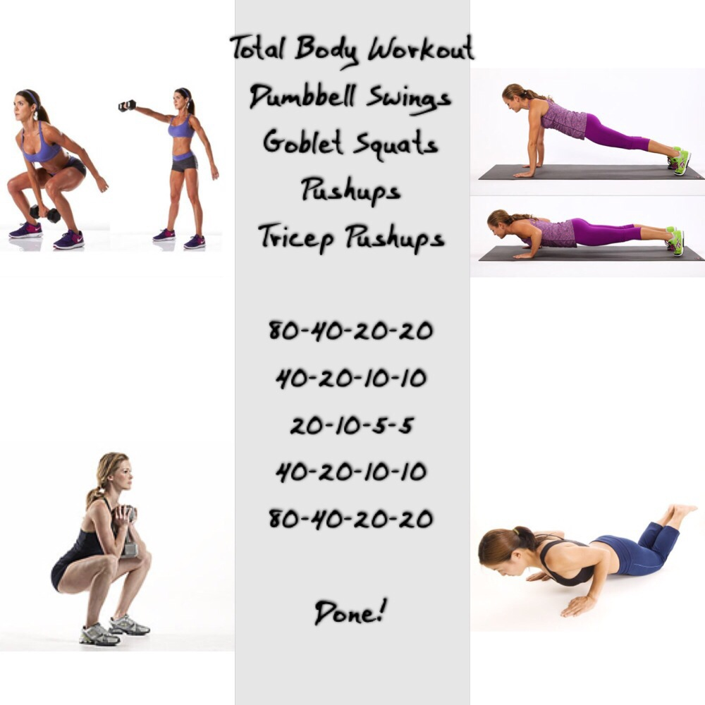 Gym Home Total Body Workout